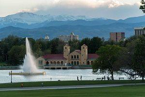 City Park Mountain Views