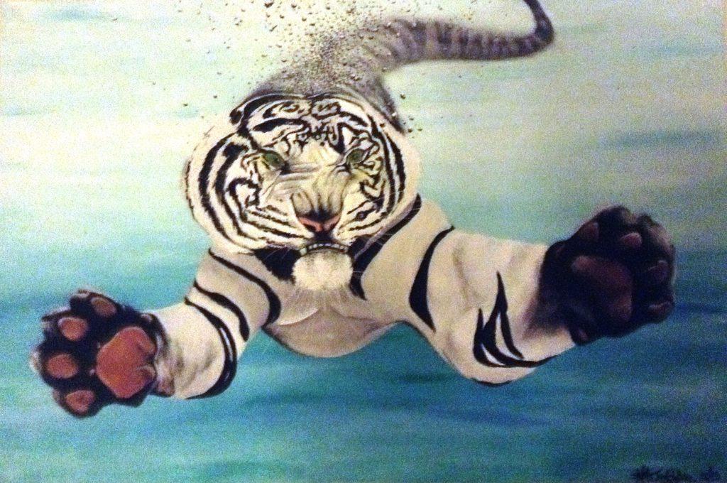 Siberian Swimmer