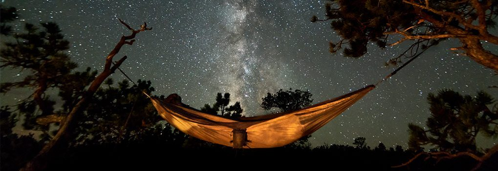 Hammock Camping under the Milkyway