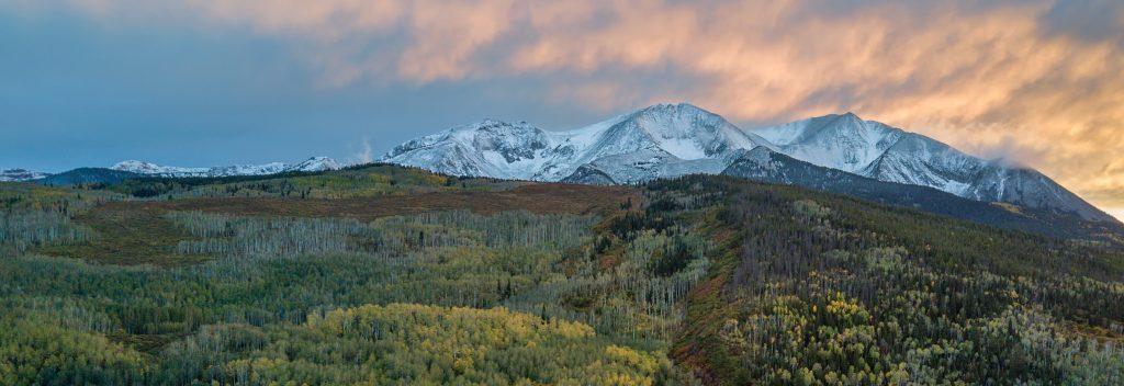Sunset over Mt. Sopris