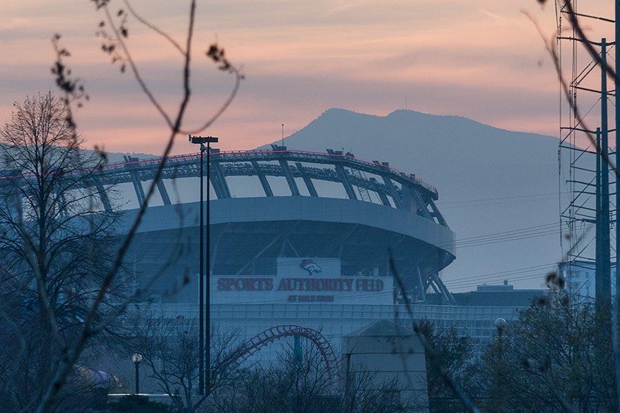 Sports Authority Field Sunset OnD
