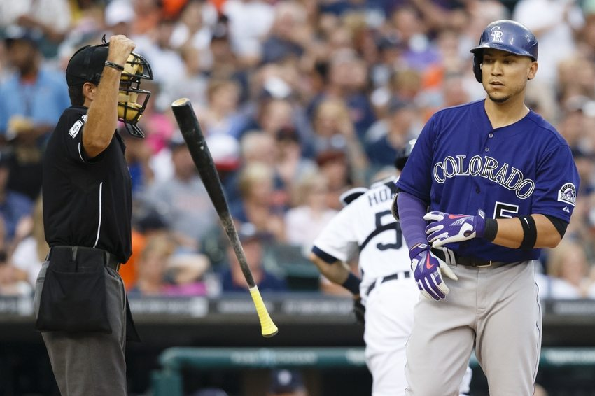 MLB: Colorado Rockies at Detroit Tigers
