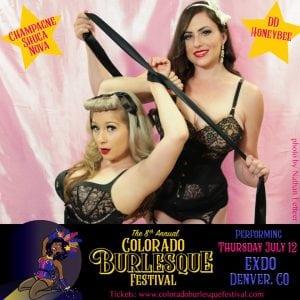 Colorado Burlesque Festival_Champagne & DD