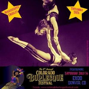 Colorado Burlesque Festival_Tatiana & Marg