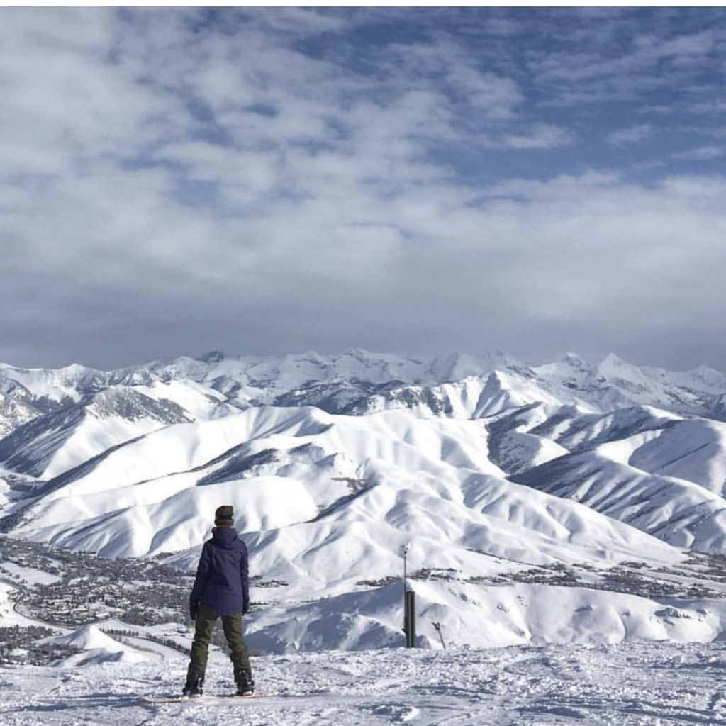 Stephanie-Kemp-snowboarding-on-Bald-Mountain
