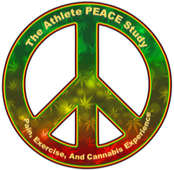 Athlete PEACE logo