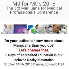 The Marijuana for Medical Professionals 2018 conference