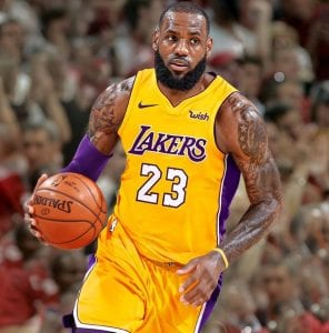 Lebron LA Lakers.