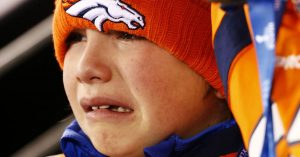 sad bronco fan
