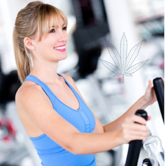 woman on treadmill