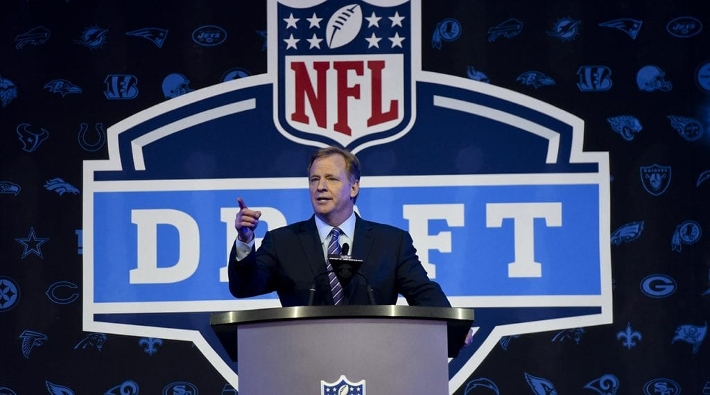NFL Draft Foootball