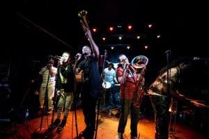 Rebirth Brass Band, courtesy of Spread The Word Fest