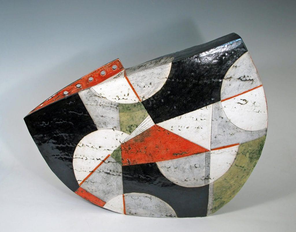 Sheryl Zacharia, Mondrian Moon. Courtesty of the William Havu Gallery