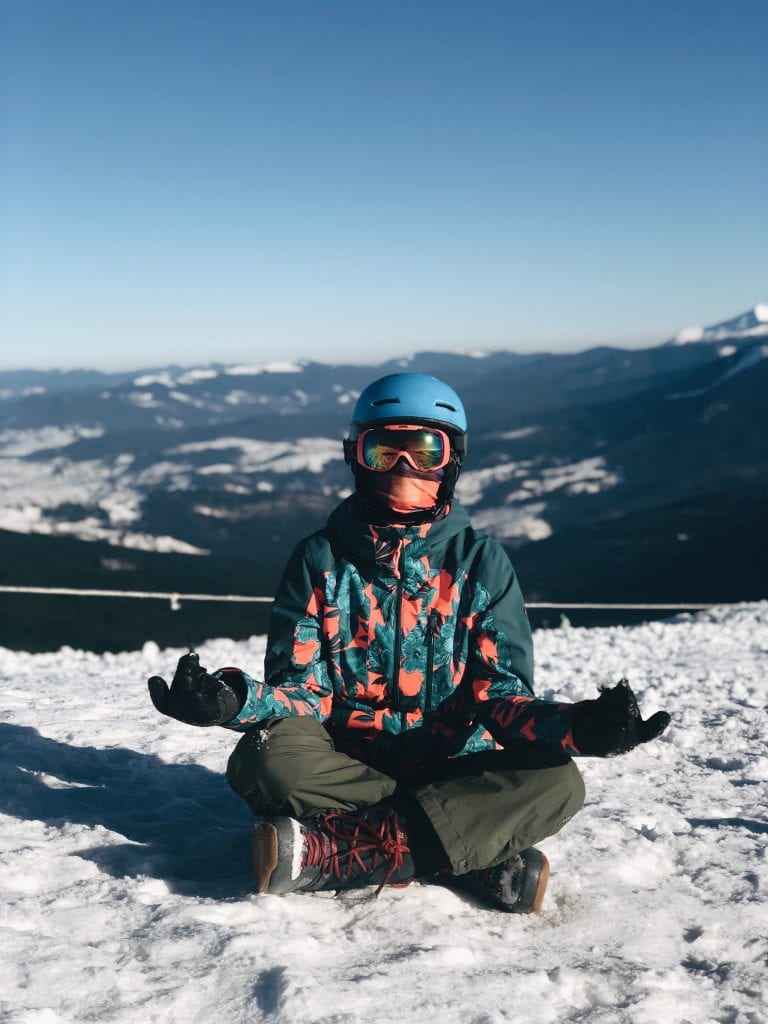 Meditating Snowboarder_Cover Photo