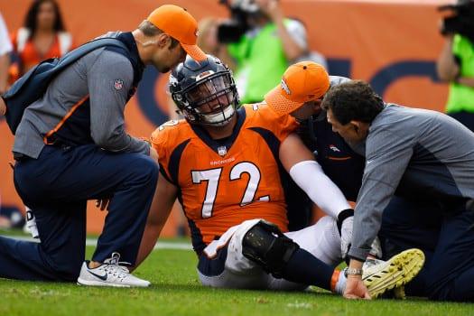 Denver Broncos vs. against the Dallas Cowboys, NFL Week 2