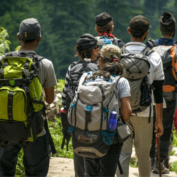 hiking stock