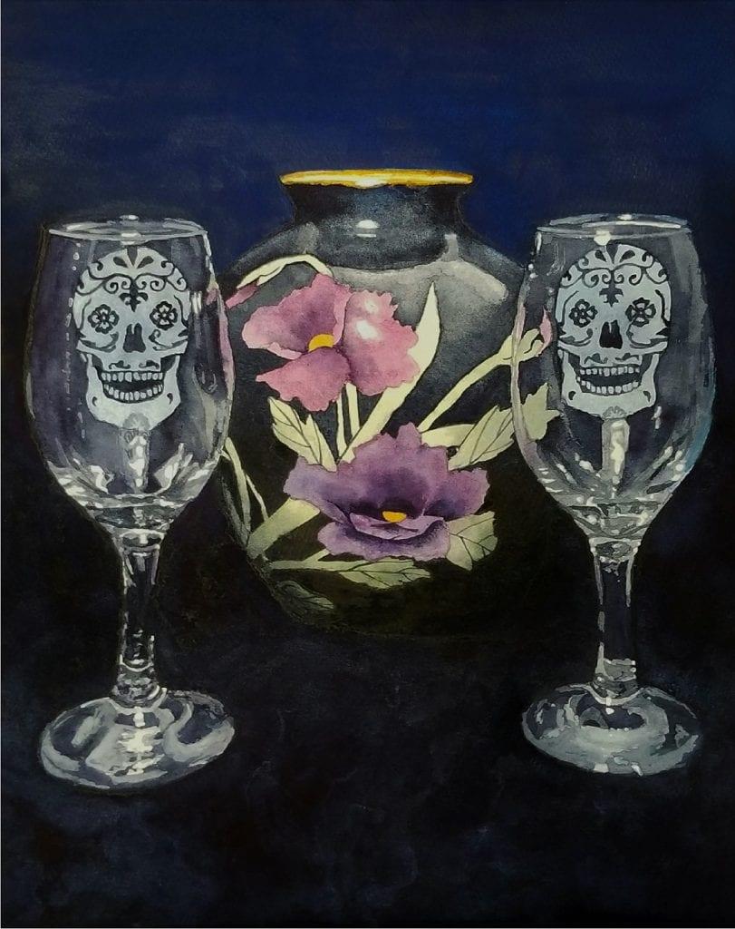 Lisa Garrison Life Death and Wine