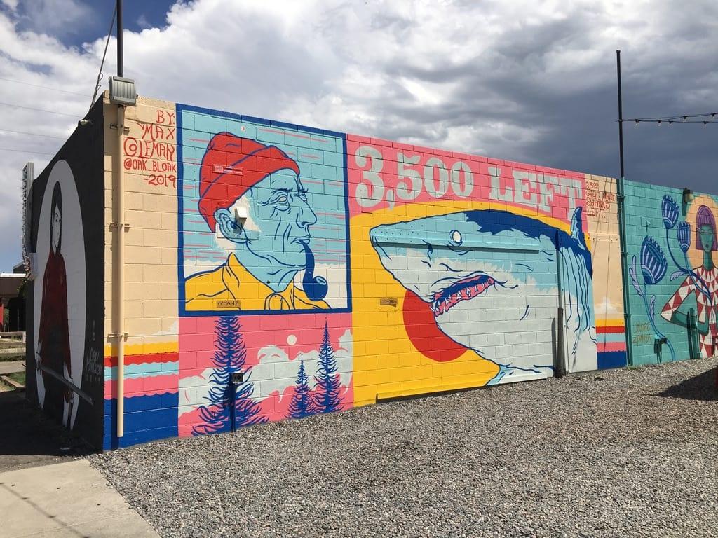 3,500 Left Mural