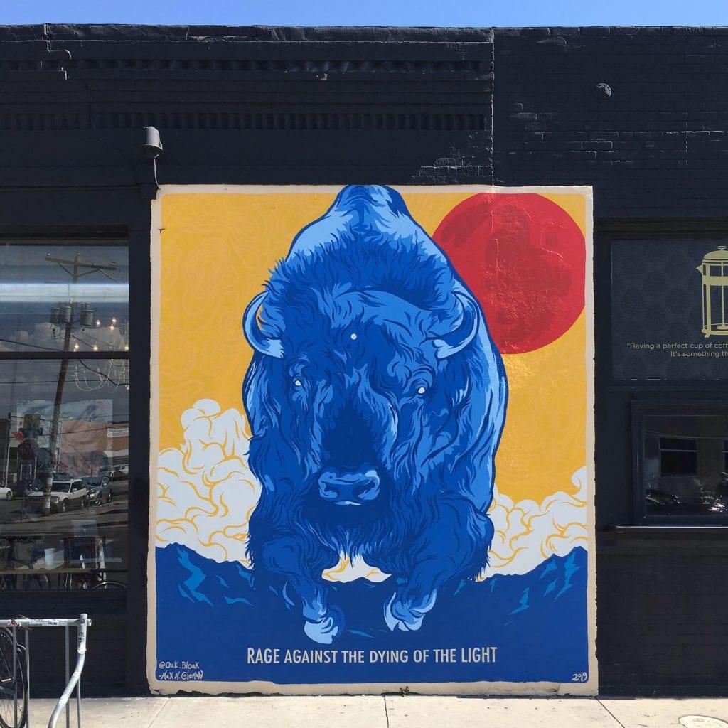 Crus Walls Buffalo Mural