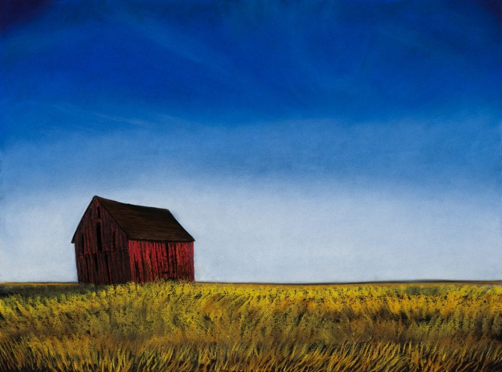 Kathy Beekman, A Weathered Barn