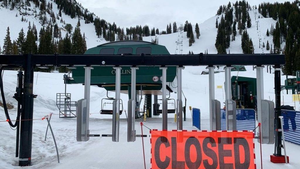 ski closed